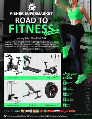Road to Fitness Raffle Promo