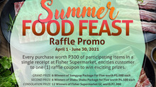 Summer Food Feast Raffle Promo