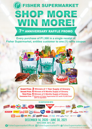 Shop More, Win More! 7th Anniversary Raffle Promo