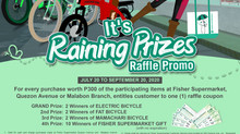 It's Raining Prizes Raffle Promo!