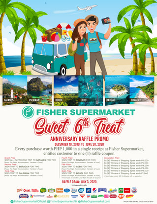 Sweet 6th Treat Anniversary Raffle Promo