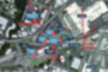 Lots of public car parks behind Barfoot & Thompson, Community center, Library, Police station, Burger king, Lynn mall,the Level 2 and 3 AT carpark upstairs.