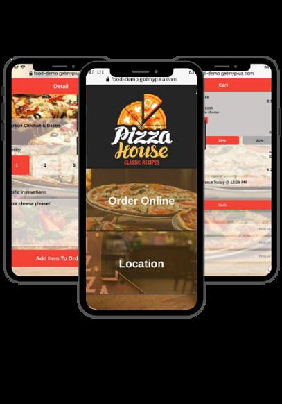 Mobile Food Ordering| Progressive Web App | Technic Apps
