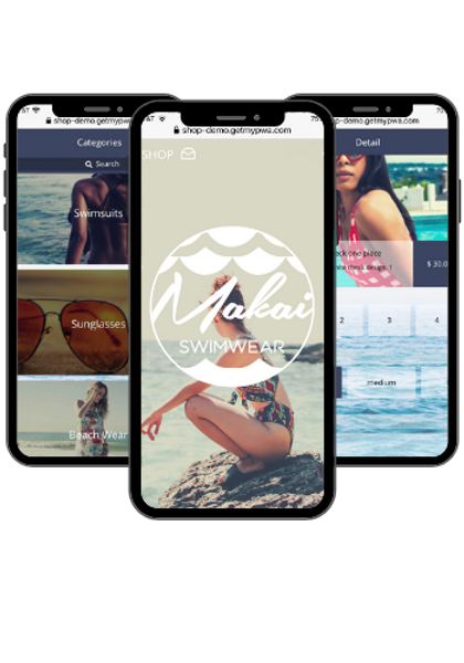 M-Commerce PWA | Progressive Web App| Technic Apps