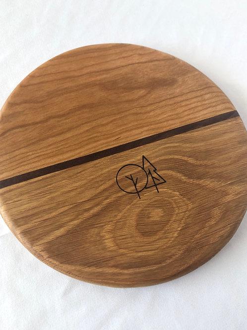 "Round Charcuterie Board (8 1/2"")"