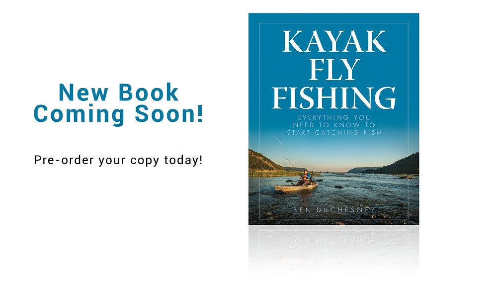 The new book, Kayak Fly Fishing, by Ben Duchesney.