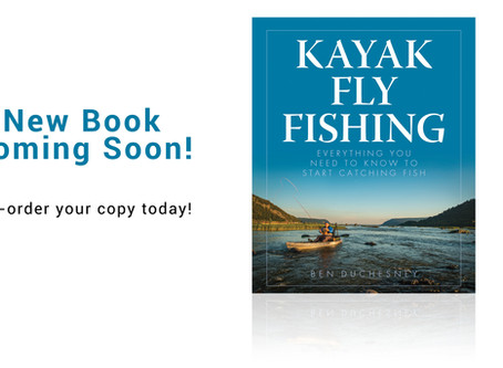Kayak Fly Fishing: My New Book