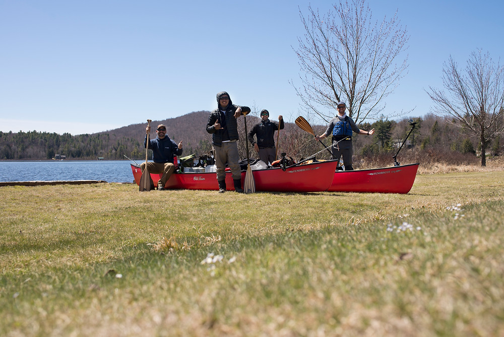 The end of day eight on the Northern Forest Canoe Trail.