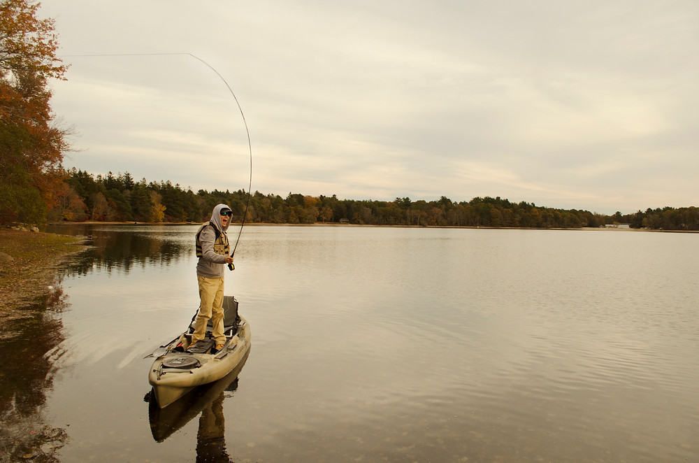 Choose the right fly fishing kayak to have more fun on the water.