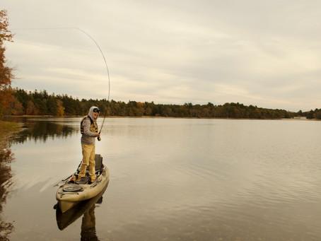 The Ideal Fishing Kayak Setup for Fly Fishing