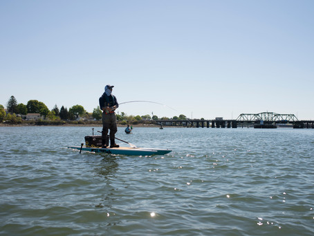How to Land a Fish On Fly from a Kayak