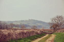 Vézelay depuis Pierre-Perthuis