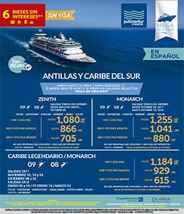 Crucero a las Antillas