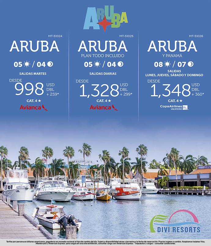 Viaja a Aruba