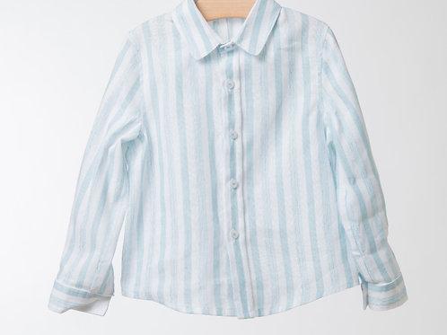 Camisa Rayas Lino