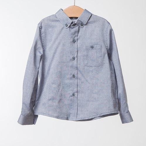 Camisa gris acero
