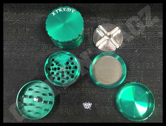 Xtreme 4 Piece Grinder with Removable Screen