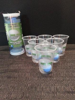 Beer Pong Set - 22 cups, 6 balls