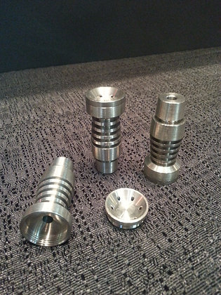14mm + 19mm Domeless Titanium Nail (Male)