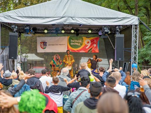 Bijou Camara & Guinee Toumboui @ Barevna Devitka Festival, Prag
