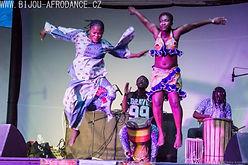 Bijou Camara und Guinee Toumboui - authentische afrikanische Trommeln und Tanzshow