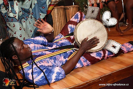 Afrikanische Trommeln und Tanz - concert in Bratislava
