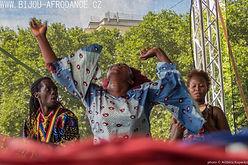 Bijou Camara - afrikanischer Tanzin Berin , Prague und Frankfurt (Oder)