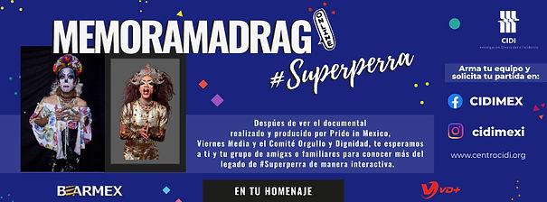 MEMORAMADRAG #Superperra