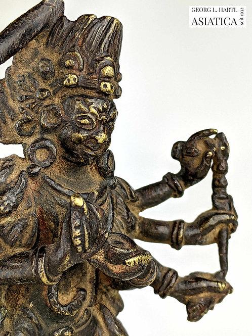 Bronze Mahakala, 16. Jh., Tibet