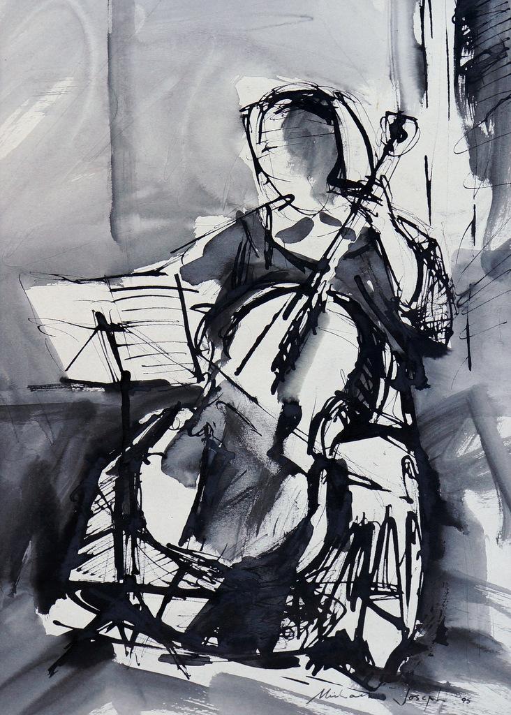 Karen playing Tchaikovsky