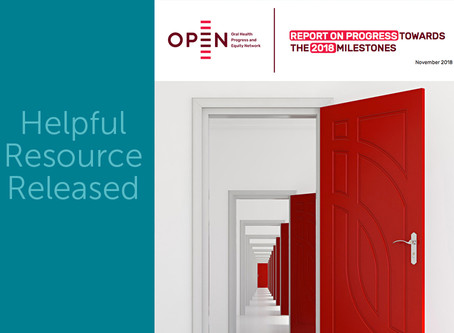 New Resource: Contributing to OPEN Network's Report on the Progress Towards the 2018 Milestones