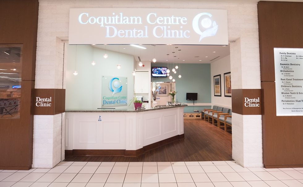 Coquitlam Centre Dental Clinic - front door