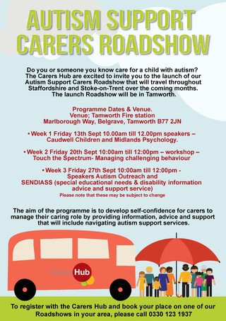 Autism Support Carers Roadshow