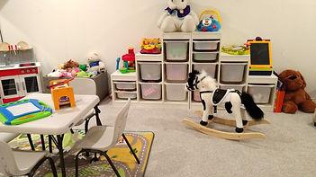 ikea playroom organization