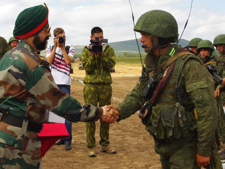 India, Russia to upgrade military exercises