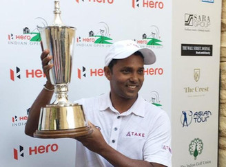 SSP Chawrasia won Indian Open title, second time: