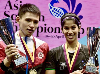 Joshna Chinappa wins Asian Squash title
