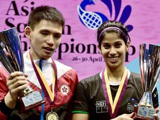 Joshna Chinappa wins Asian Squash title