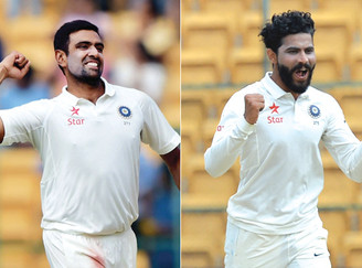 Ashwin, Jadeja jointly ranked number one in ICC Test rankings: