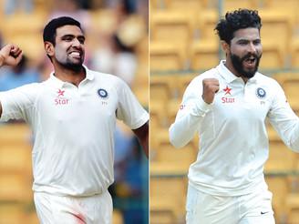 Ashwin, Jadeja jointly ranked number one in ICC Test rankings: