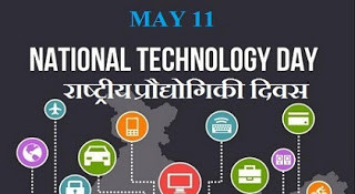 India celebrates The National Technology Day