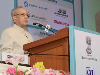 President of India inaugurates the 12th CII-Exim bank conclave on India Africa Project Partnership: