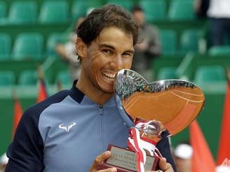 Rafael Nadal won Monte Carlo trophy