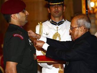 Maj. Rohit Suri awarded Kirti Chakra