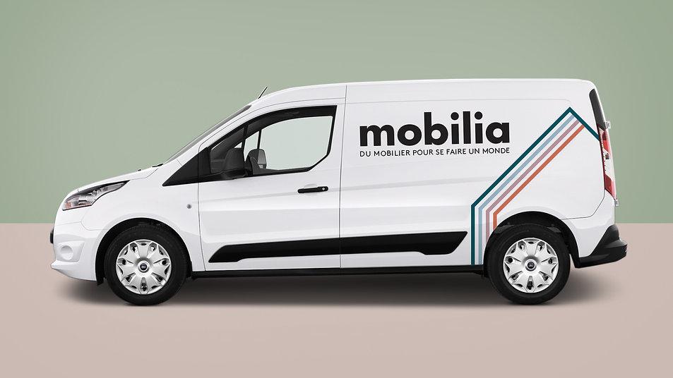 Mobilia camion