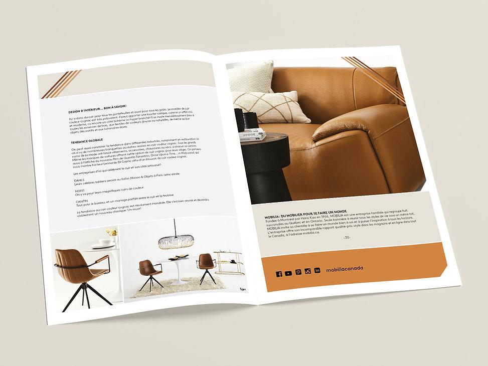 Mobilia tendance cuir