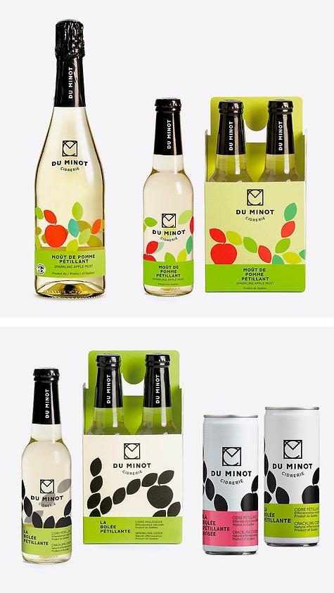 Cidrerie du Minot Branding