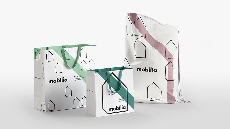 Mobilia packaging