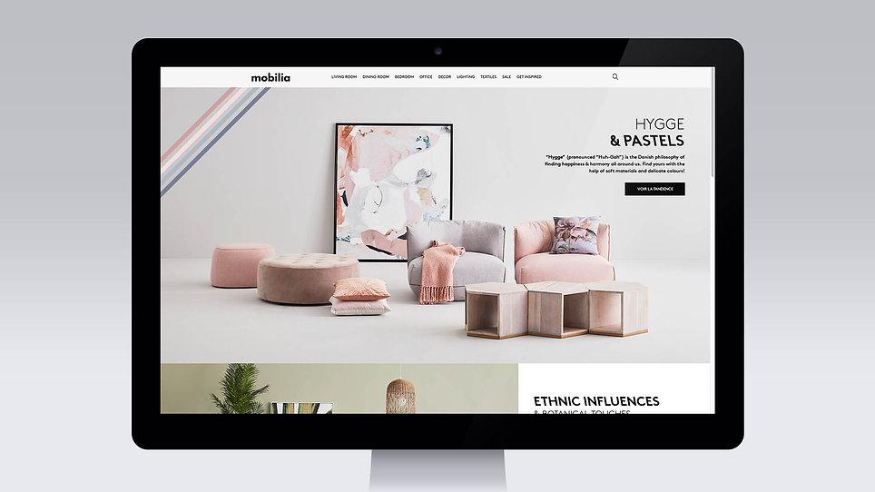 Mobilia site web