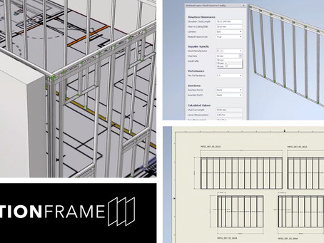 MotionFrame's Design Service Delivers First Steps in 3D Innovation to the Drywall Sector
